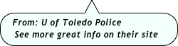 From: U of Toledo Police