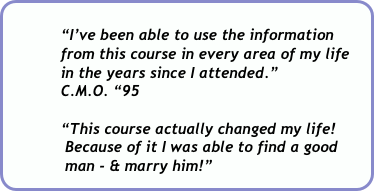 """I've been able to use the information 